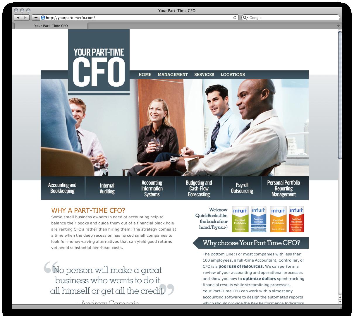 Your Part Time CFO