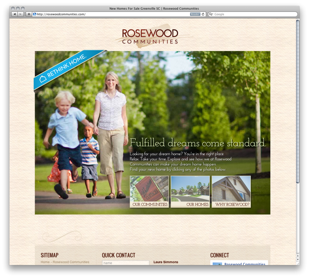 Rosewood Communities Website